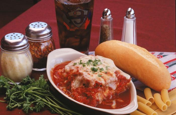 Mama Repole's famous lasagna