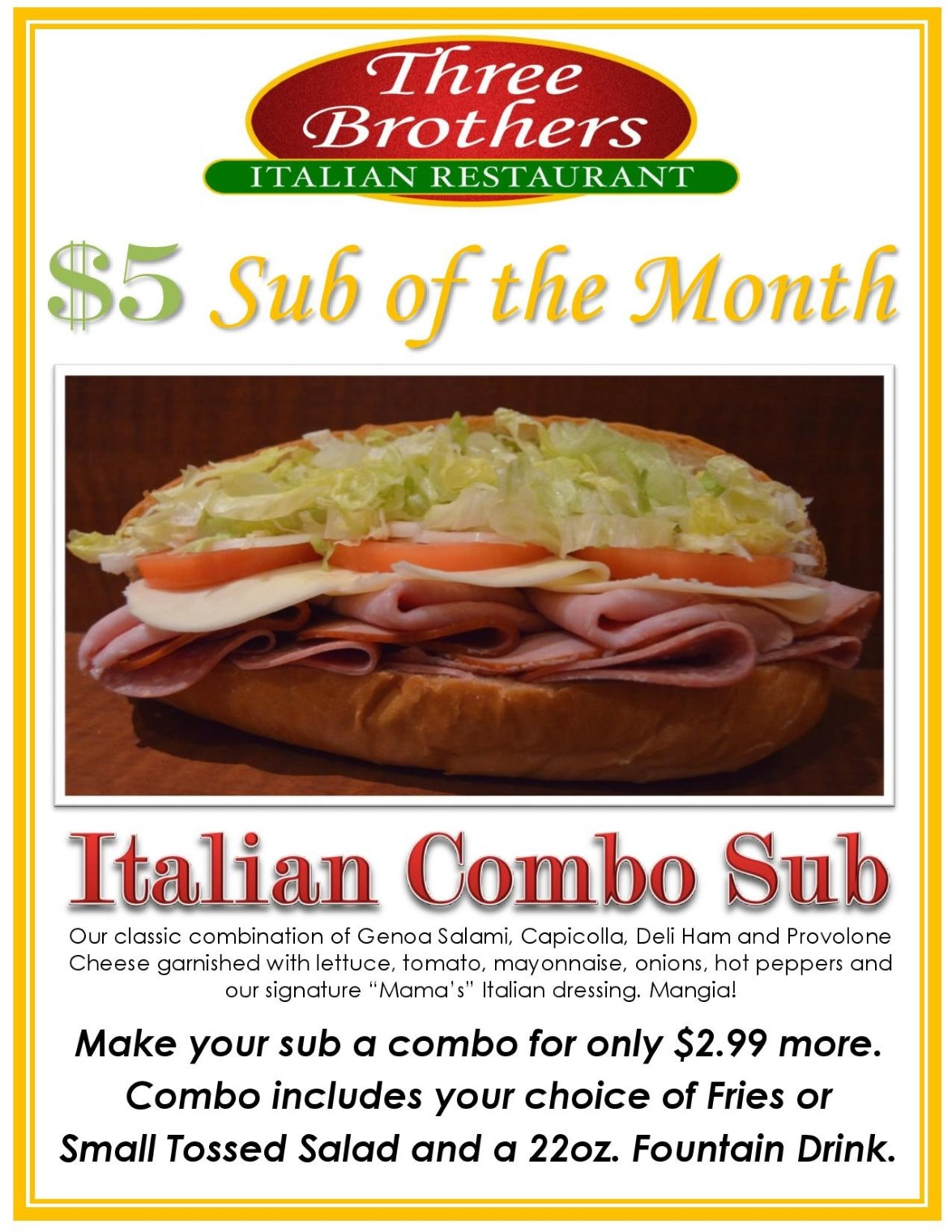 Italian Combo Sub