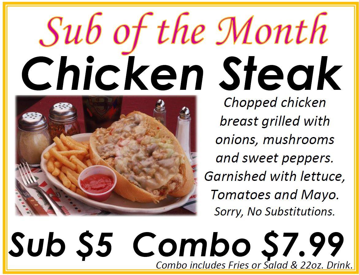 Chicken Steak December